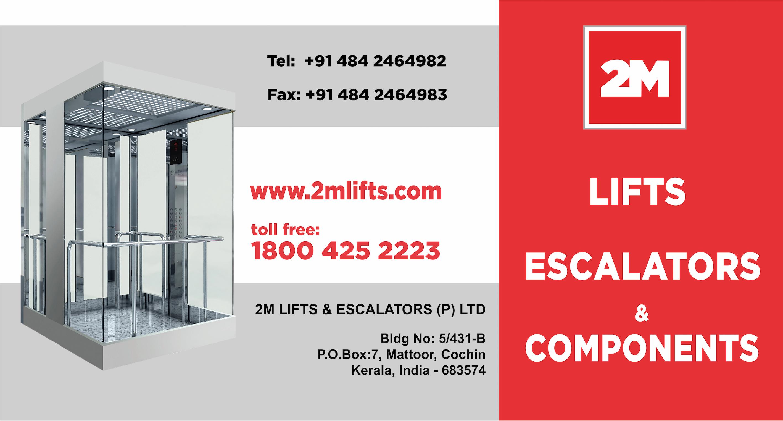 2M LIFTS & ESCALATORS PVT LTD - Kerala Angamaly